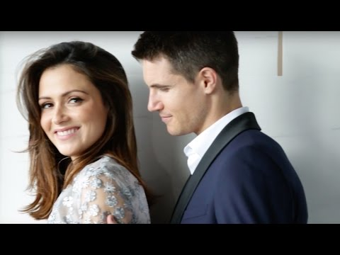 Canada's Most Beautiful: Behind the Scenes on Robbie Amell and Italia Ricci's shoot