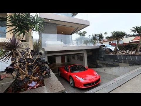 Luxury Real Estate S Latest Toy The Car Turntable Youtube
