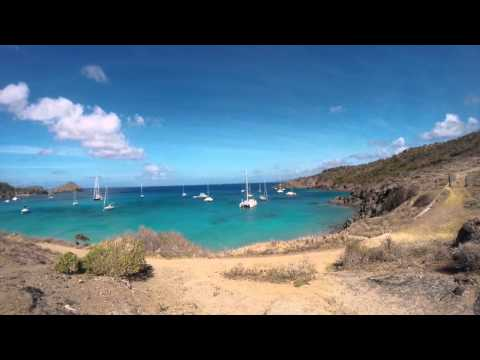 Voyage St Barth - St Martin, Caraibe Gopro 2015