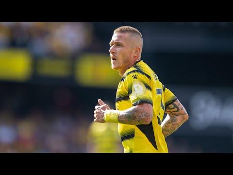 "Debut ""QUIET"" by Juraj Kucka 😂 😂 😂 |  Best bits |  Watford 3-2 Aston Villa"