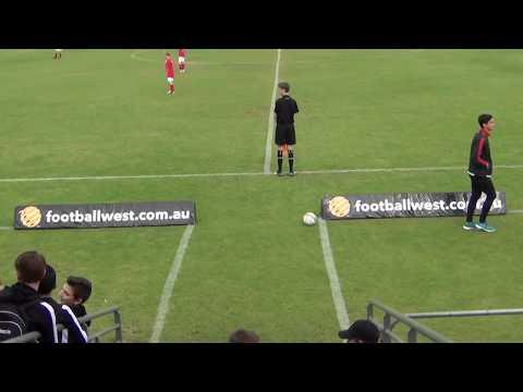 U12NPL TOP 4 FINAL: ECU Joondalup vs Perth SC - 1st half