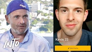 A Younger and Older Guy Switch Grindr Profiles | What The Flip