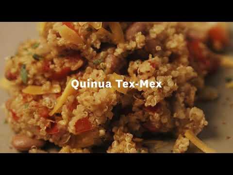 Thumbnail to launch Tex Mex Quinoa Spanish video