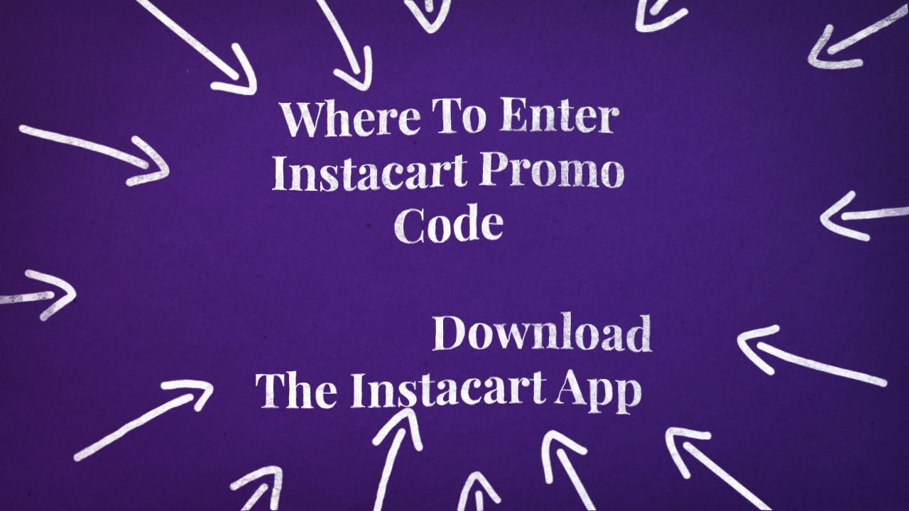 instacart promo codes for existing customers