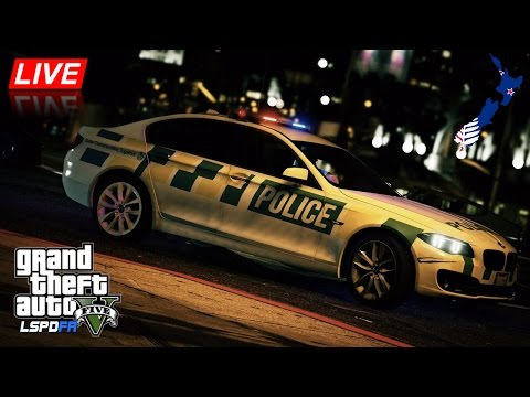GTA 5 - LSPDFR New Zealand - BMW 530D F10 Trial Vehicle (Play GTA as a cop mod for PC)