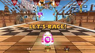 Sonic & Sega all Star Racing Grand Prix Challenge part 17 4k