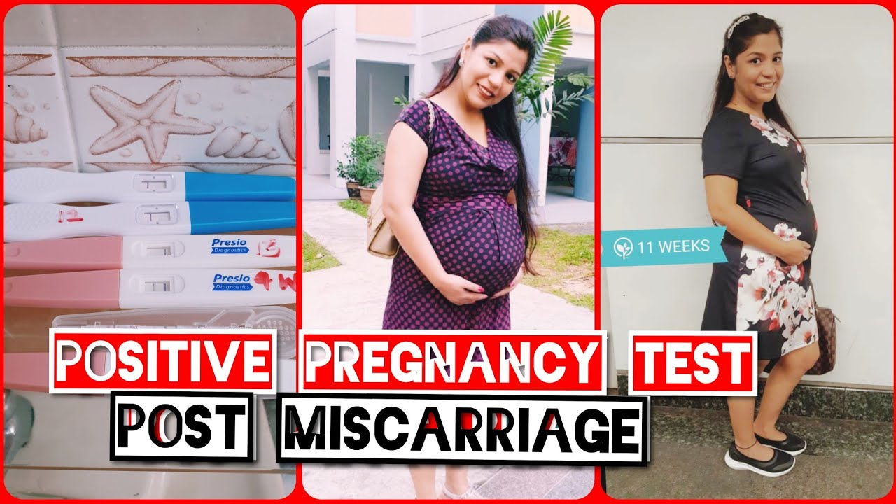 Pregnant After Miscarriage Positive Pregnancy Test At Home Before