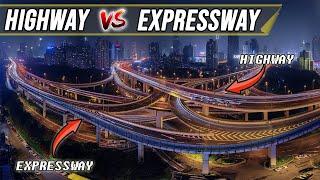 Highway Vs Expressway || DIFFERENCE ||हाईवे और एक्सप्रेसवे का अंतर