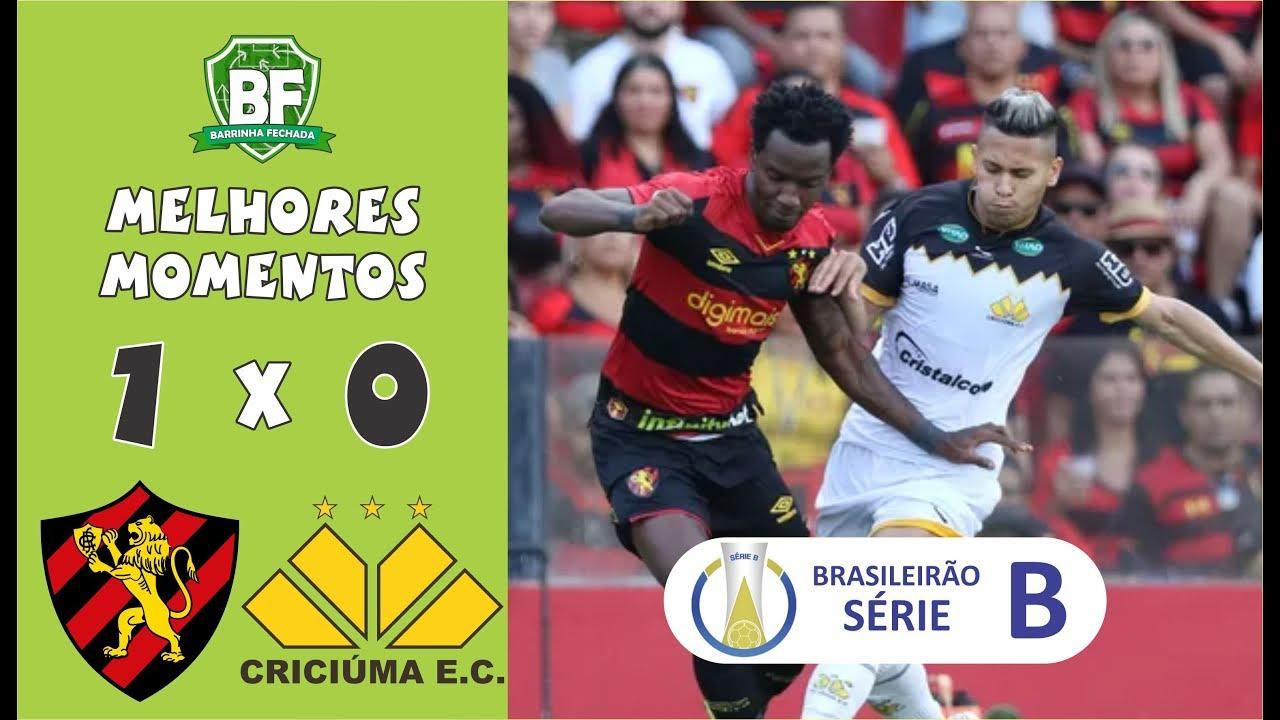 Sport 1 x 0 Criciúma | Brasileirão - Série B 2019 | Melhores Momentos | Barrinha Fechada