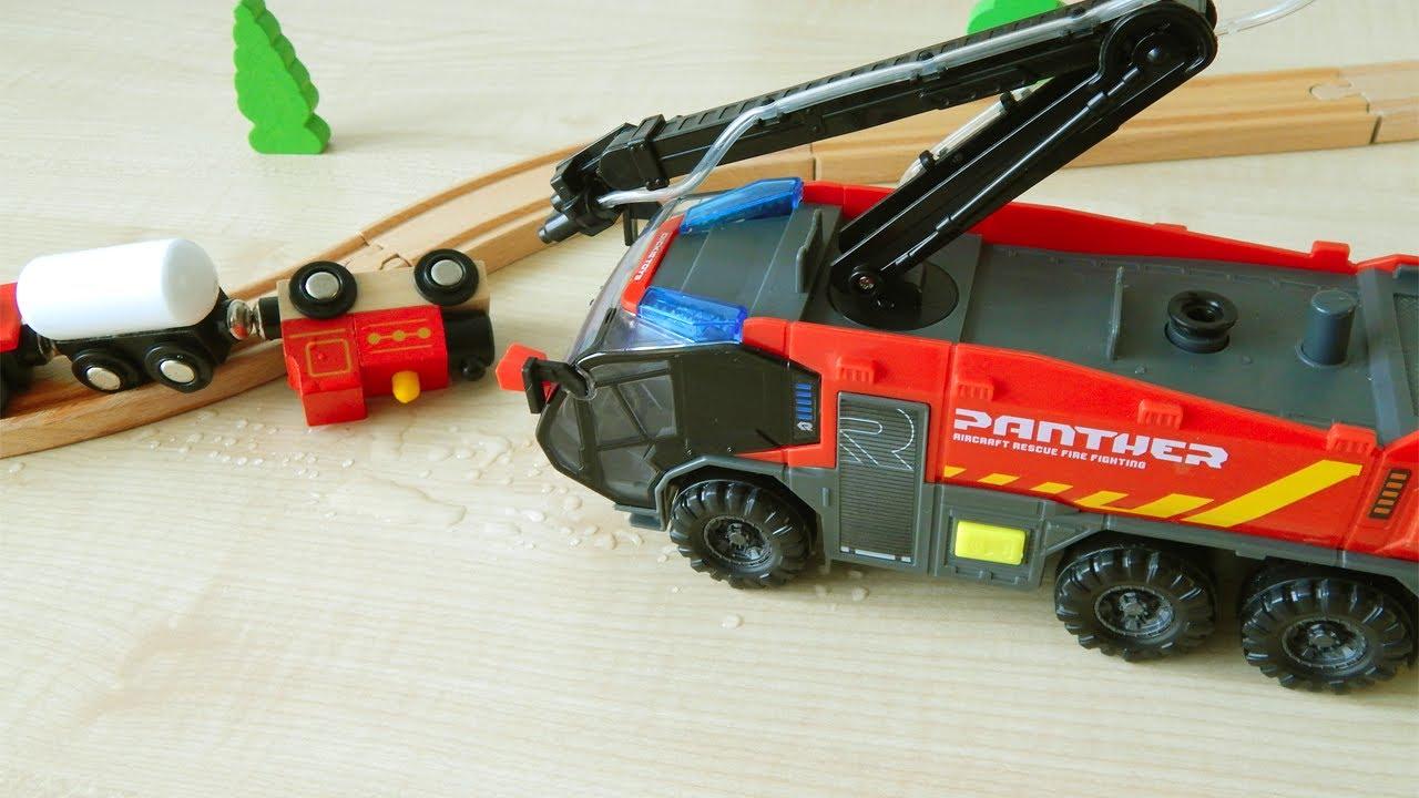 Мультик для дітей українською мовою Мультики про машинки Місто машинок Пожежна машина Dickie Toys