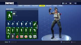 "Fortnite NEW ""Rapscallion"" Skin Showcased with 45 Dances/Back Blings l Fortnite Season 4 Shop"