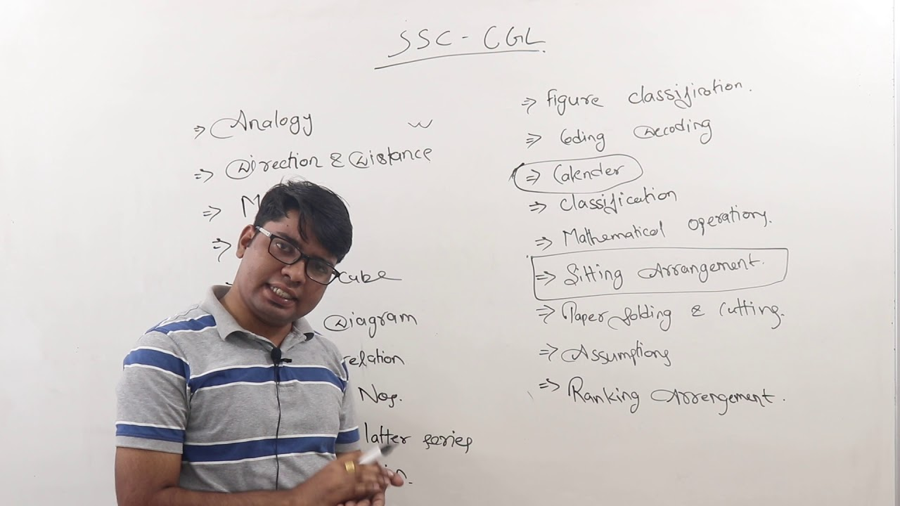 reasoning for ssc cgl chsl mts steno youtube