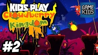 Matt, Webb And Mills Play Cloudberry Kingdom Part 2 - Kids Play