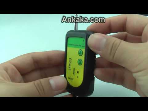 Anti-Spy Bug Detector (Wireless Camera RF Signal Tracer) | Anti-Spy Bug Detector Review