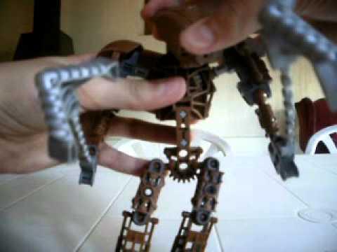 bionicle toa metru onewa video review en español