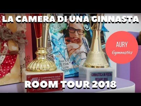LA CAMERA DI UNA GINNASTA: ROOM TOUR - AURY GYMNASTICS