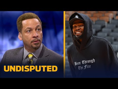 KD's impact will be immediate if he returns by Game 4 of the Finals — Broussard | NBA | UNDISPUTED