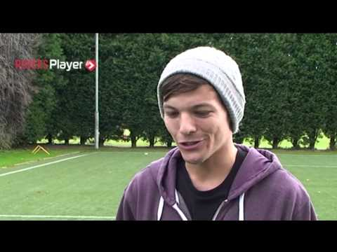 Louis on Training Ground Visit