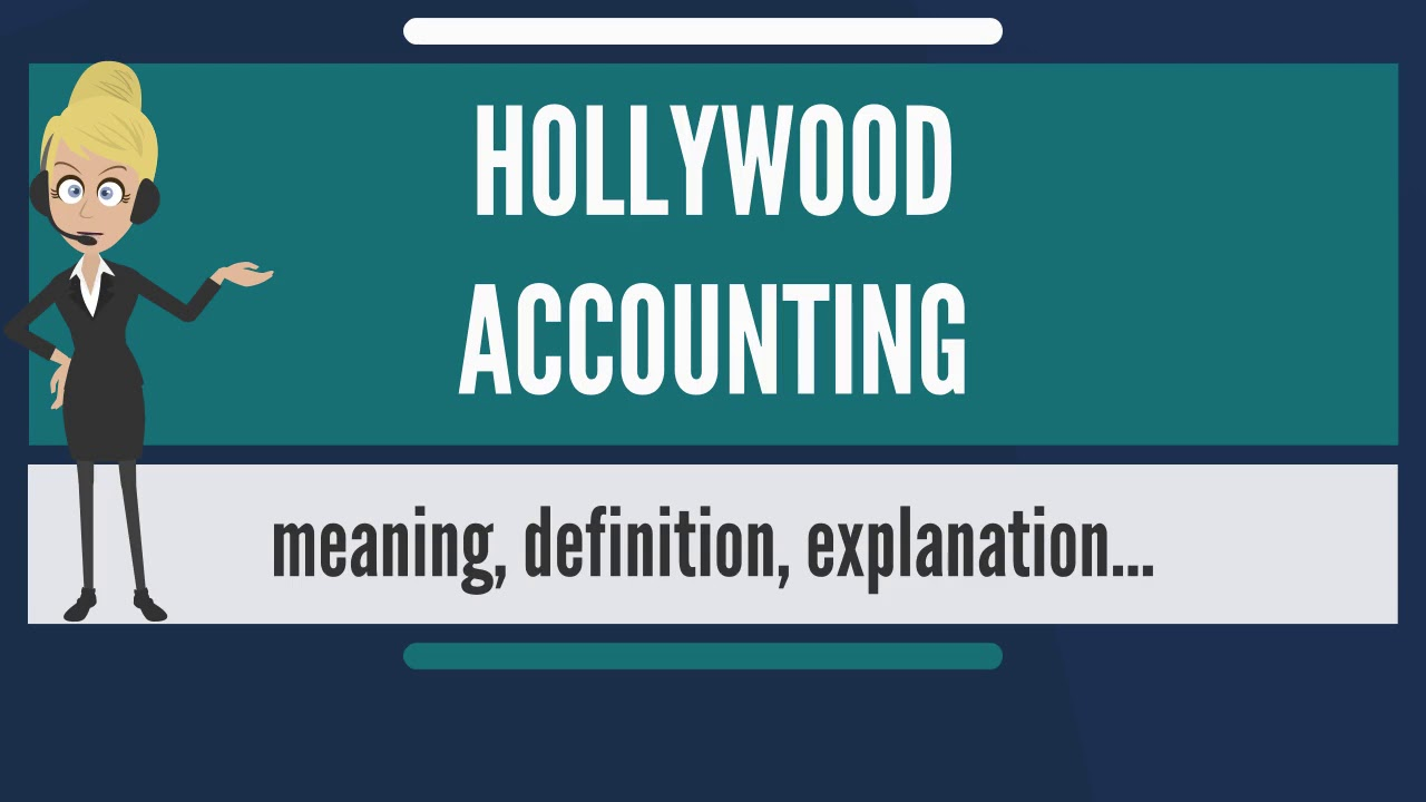hollywood accounting Hollywood accounting is about making individual movies look like losers for the purpose of avoiding royalties and other contractual payments movies don't pay taxes, studios pay taxes.