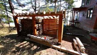Timelapse: Building Woodshed (1)