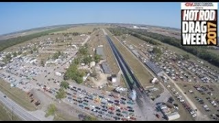 Hot Rod Drag Week 2017 Day 5: Cordova Dragway Track Fly Over