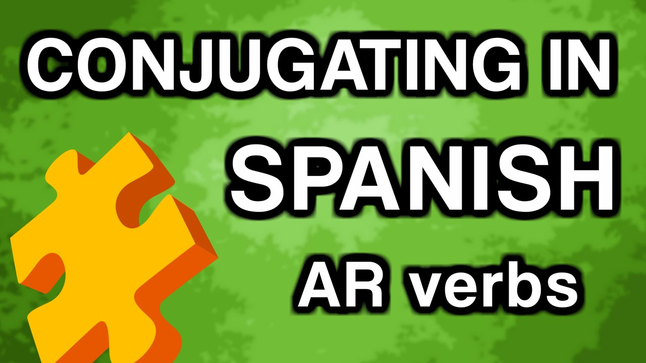 Learn Spanish Conjugation with OUINO™: AR Verbs Present Tense ...
