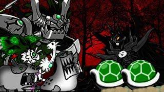 The Battle Cats - Green Shell Cat