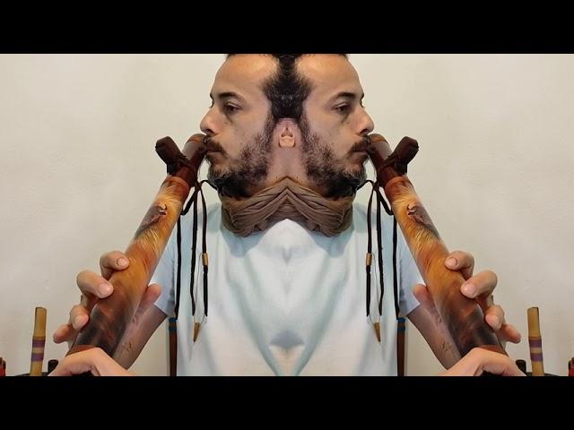NAF - Native American Style Flöte G-Bass 432