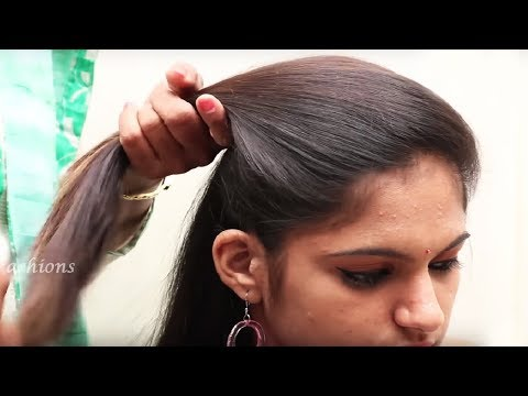 Easy Beautiful Hairstyle for Long Hair Tutorial