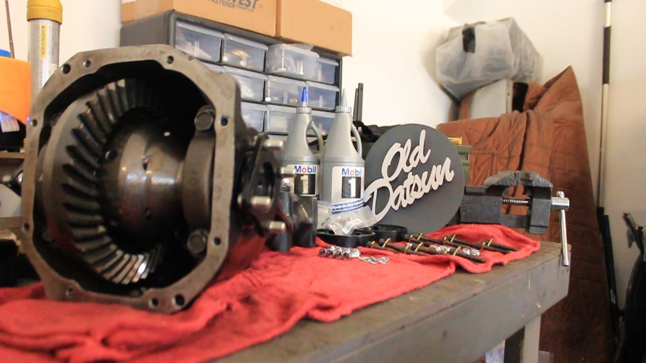 280Z R200 Differential Assembly | Rear End Part 2