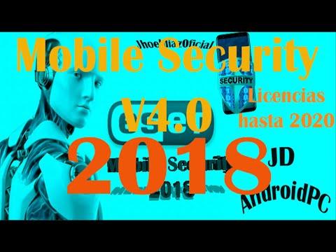 licencia nod32 hasta 2020