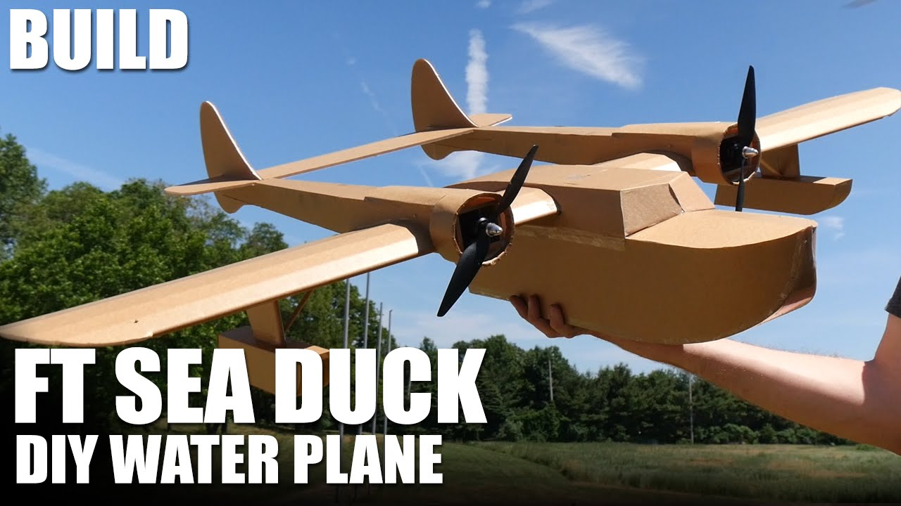 Hydroplane FT Sea Duck, Swappable Series by Flite Test