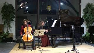 Schumann : Adagio und Allegro Op. 70 - Paul Heyman (cello), Isil Bengi (piano), Live recording