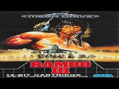 SMD: Rambo III Sega (Mega Drive)