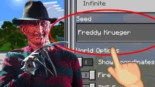 "Minecraft ""Freddy Krueger"" World (Scary Nightmare on Elm"
