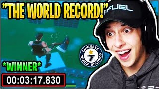 Cizzorz REACTS to WINNER of His Death Run Obstacle Course! *WORLD RECORD*