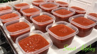 Make My Homemade Tomato Sauce With Me | The Perfect Base For All Your Stews & Soups