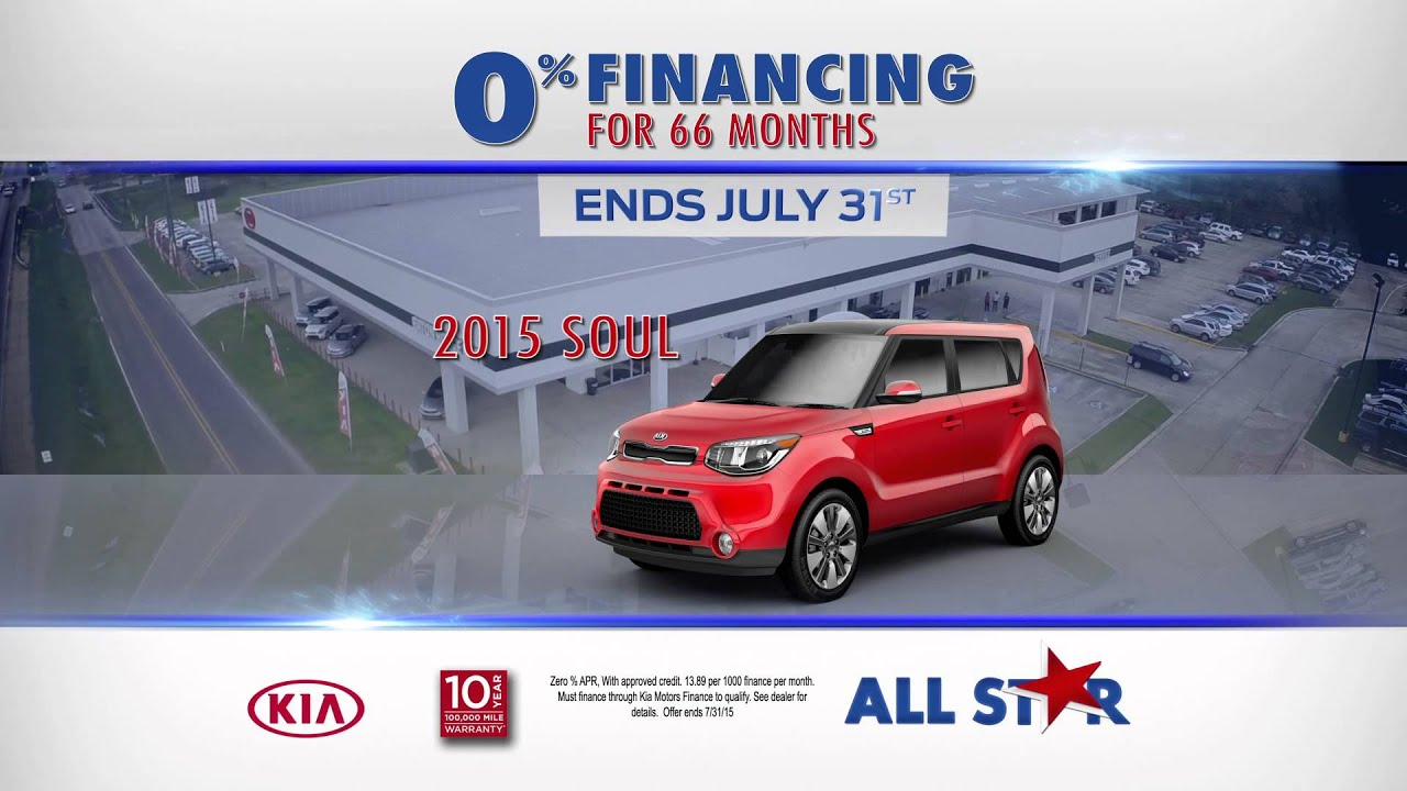 Wonderful All Star Kia Of Baton Rouge   July 2015   0% Financing For 66 Months!