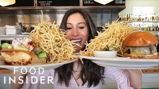 Mountain Of Fries Served With Every Dish At Texan Restaurant