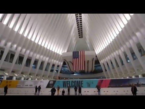 New York, New York - World Trade Center Transportation Hub Oculus - Opening Day HD (2016)