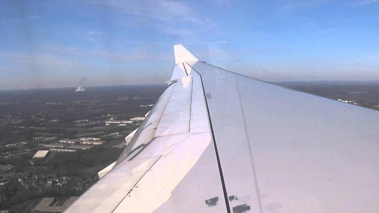 American Airlines Airbus A330 Arriving Charlotte From