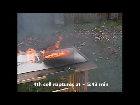 Li-ion 18650 Cells in Thermal Runaway from YouTube · Duration:  55 seconds