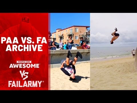 Parkour, Skateboarding and Jumping | PAA vs. FA Archive