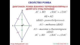 45 Ромб и квадрат