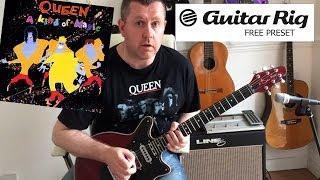 Guitar Rig 5 Queen - A Kind Of Magic - FREE PRESET DOWNLOAD
