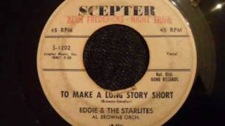 eddie the starlites to make a long story short classic doo wop ballad