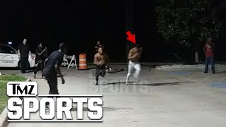 NFL's Terrance Williams Challenged to Foot Race Outside Dallas Strip Club | TMZ Sports