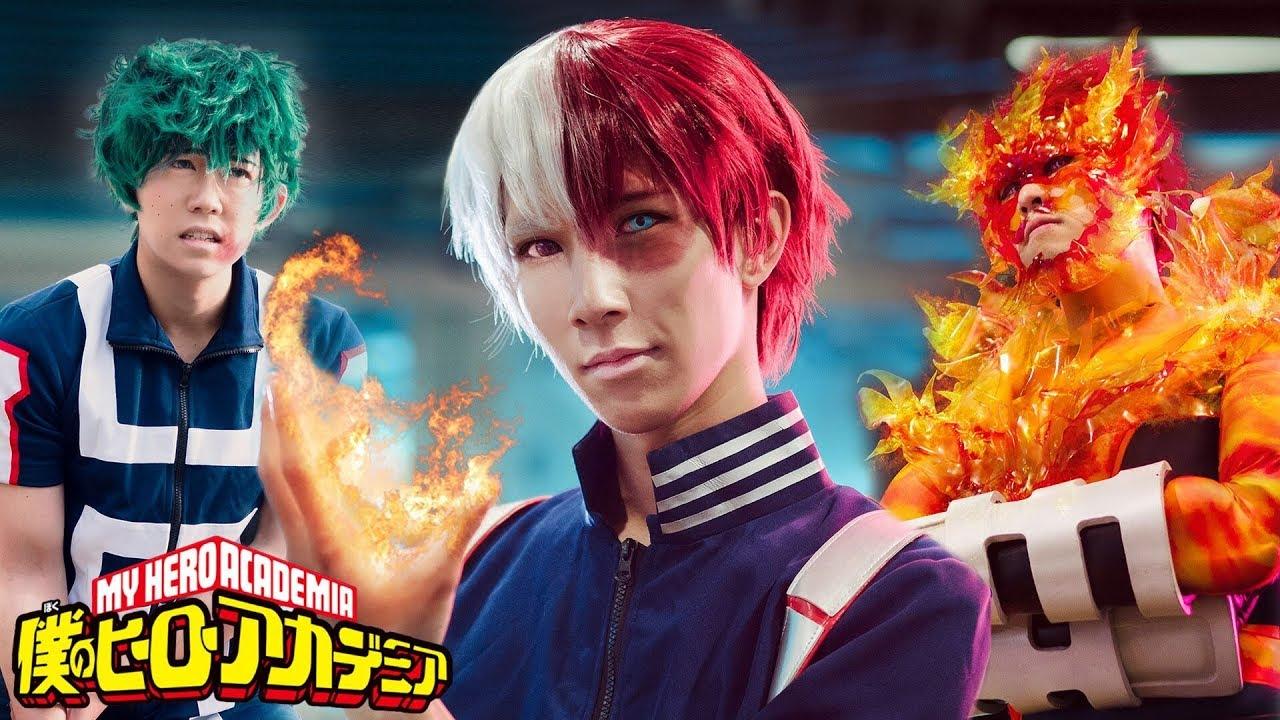 Todoroki's Quirk   My Hero Academia Film
