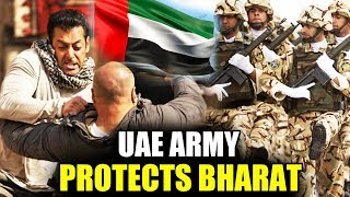 UAE Army Protects Salman Khan's BHARAT | CRUCIAL SCENE Shooting | Latest Updates