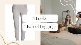 How To Wear Leggings As Pants